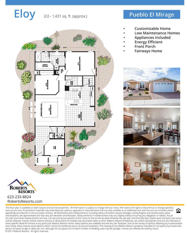 Pueblo El Mirage - Model Home - Eloy