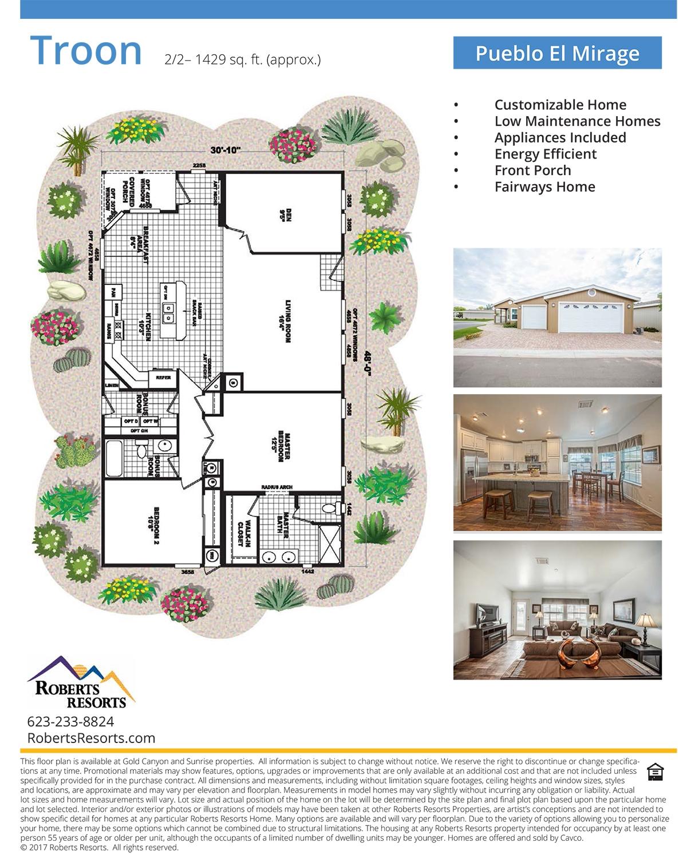 Pueblo El Mirage - Model Home - Troon